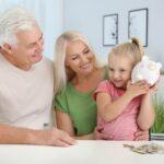 Parler d'argent avec ses petits-enfants